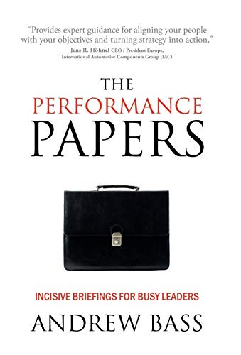 The Performance Papers By Andrew Bass