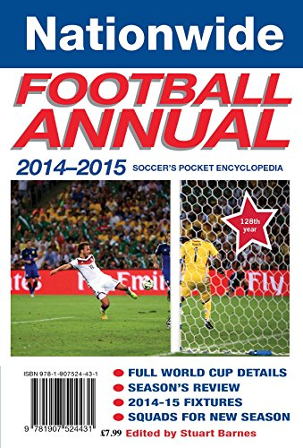 Nationwide Annual 2014-15: Soccer's pocket encyclopedia (Annuals) Edited by Stuart Barnes