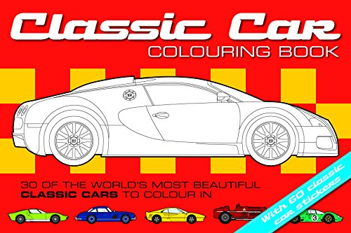 The Classic Car Colouring Book by Chez Pitchall
