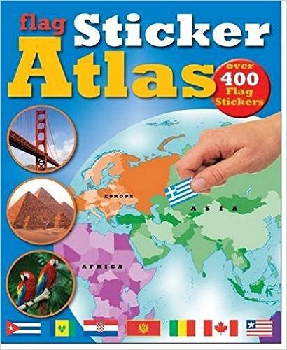 Flag Sticker Atlas (Sticker Book) By Chez Picthall