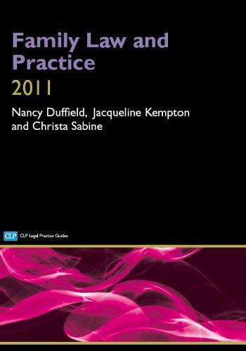 Family Law and Practice By Nancy Duffield