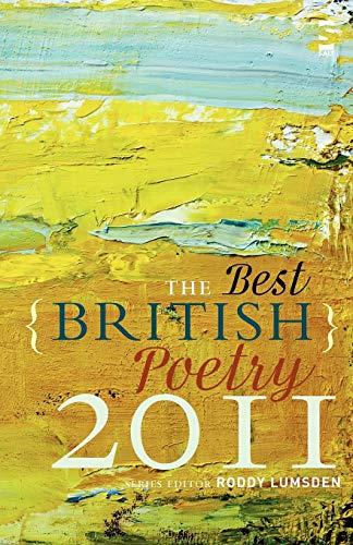 The Best British Poetry 2011 By Roddy Lumsden