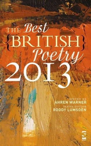 The Best British Poetry 2013 By Ahren Warner