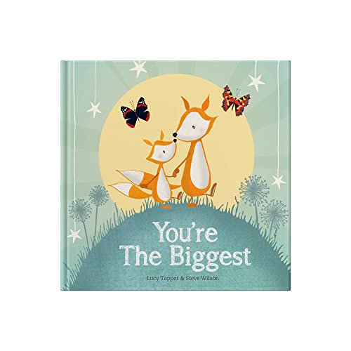You're the Biggest By Illustrated by Lucy Tapper