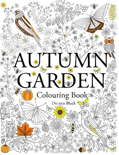 Autumn Garden: Colouring Book by Dee-Ann Black