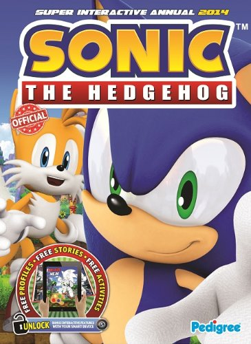 Sonic the Hedgehog Super Interactive Annual 2014 by Pedigree Books
