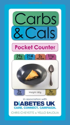 Carbs & Cals Pocket Counter by Chris Cheyette