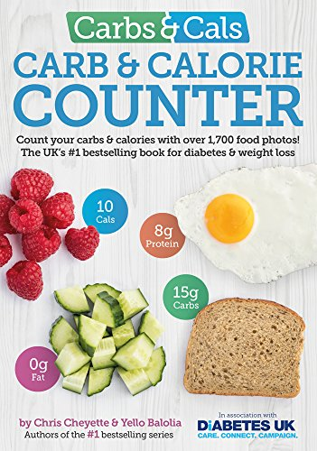 Carbs & Cals Carb & Calorie Counter: Count Your Carbs & Calories with Over 1,700 Food & Drink Photos! By Chris Cheyette