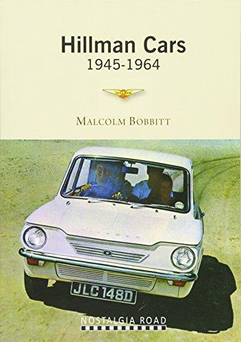 Hillman Cars By Malcolm Bobbitt