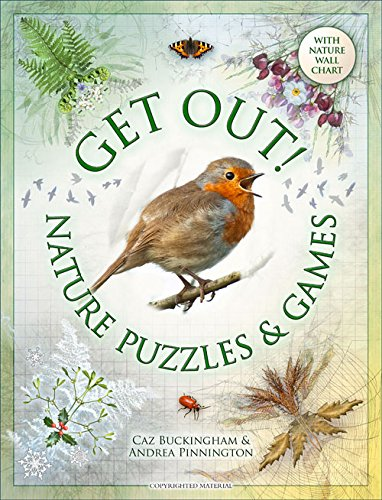 Get Out: Nature Puzzles and Games By Andrea Pinnington