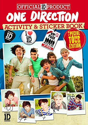 The Official One Direction Activity and Sticker Book By Centum Books Ltd