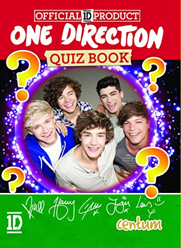 The Official One Direction Tour Quiz Book by