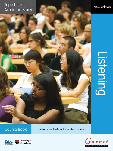 English for Academic Study: Listening Course Book with audio CDs - 2012 Edition By Colin Campbell