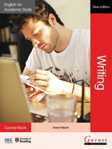English for Academic Study: Writing Course Book - 2012 Edition By Anne Pallant