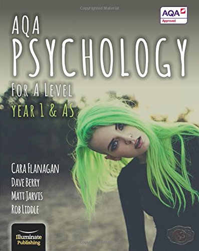 AQA Psychology for A Level Year 1 & AS - Student Book By Cara Flanagan