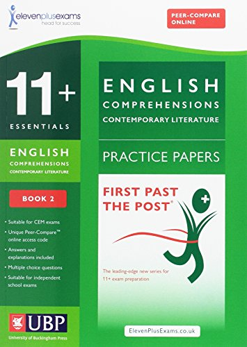 11+ Essentials Comprehensions (Contemporary) for CEM By Eleven Plus Exams