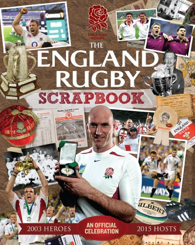 The Official England Rugby Scrapbook by Sport Media