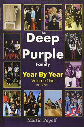 The Deep Purple Family By Martin Popoff