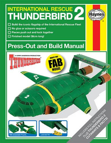 Thunderbird Press Out&Build Manua By None