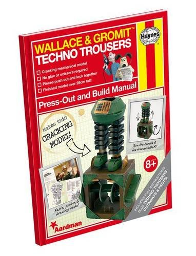 Wallace & Gromit Press Out & Buil By none