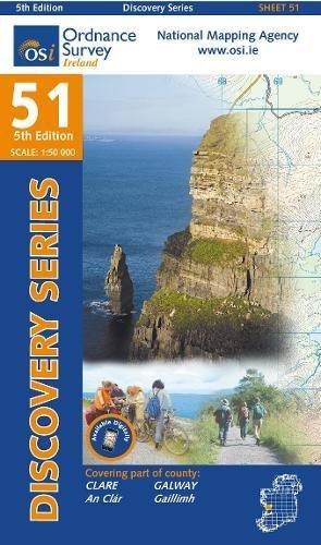 Clare, Galway By Ordnance Survey Ireland