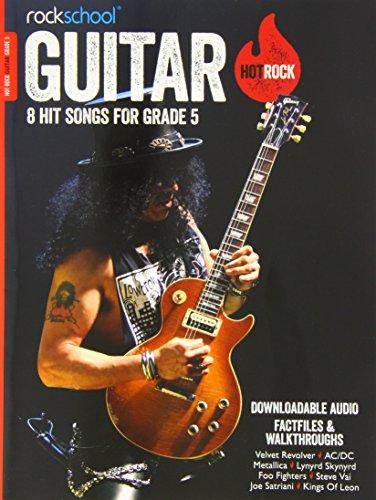 Rockschool Hot Rock Guitar Grade 5 by James Uings