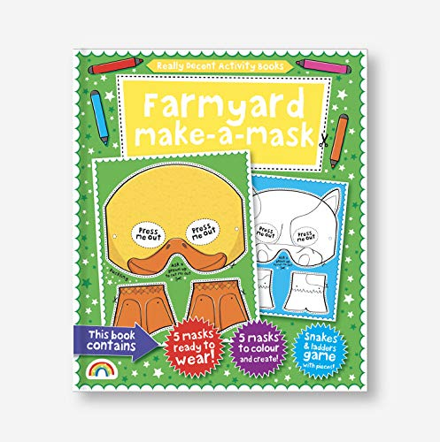 Make-a-Mask: Farmyard! Illustrated by The Boy Fitzhammond
