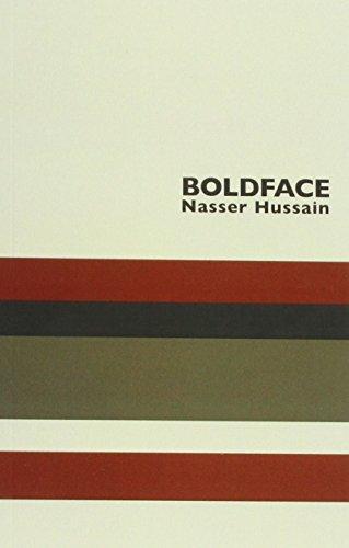 Boldface By Nasser Hussain