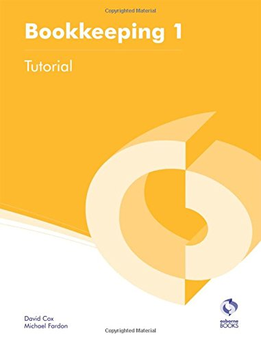 Bookkeeping 1 Tutorial By David Cox
