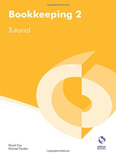 Bookkeeping 2 Tutorial By David Cox