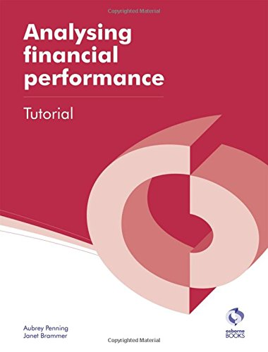 Analysing Financial Performance Tutorial by Aubrey Penning