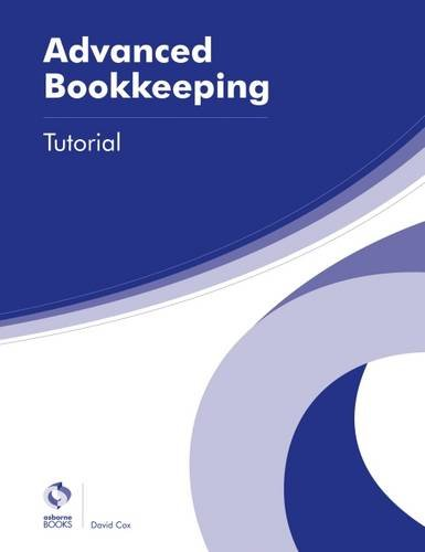 Advanced Bookkeeping Tutorial By David Cox