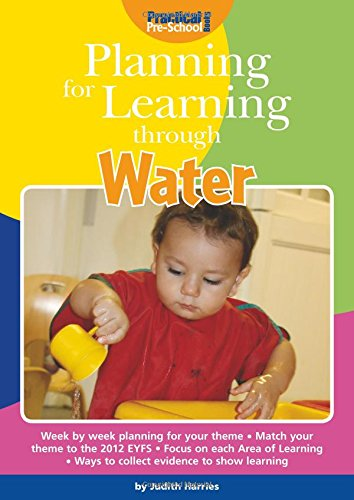 Planning for Learning Through Water By Judith Harries