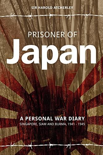 Prisoner of Japan By Sir Harold Atcherley