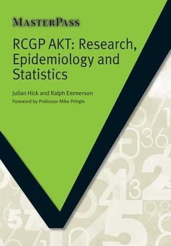 RCGP AKT By Julian Hick (University of Sheffield, South Yorkshire, United Kingdom)