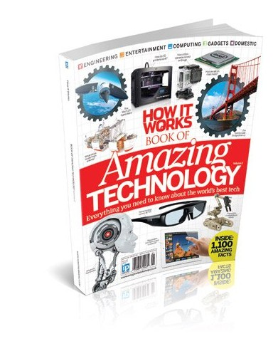 How It Works Book of Amazing Technology Vol 2 By Imagine Publishing