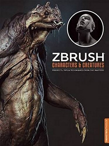 ZBrush Characters and Creatures By Kurt Papstein