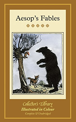 Aesop's Fables (Collectors Library in Colour) By Aesop