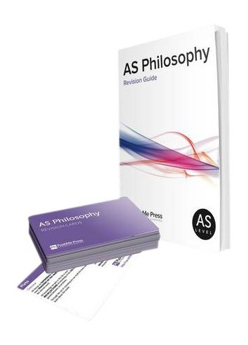 AS Philosophy Revision Guide and Cards for Edexcel By Brian Poxon