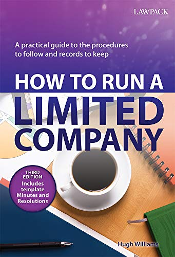How to Run a Limited Company By Hugh Williams