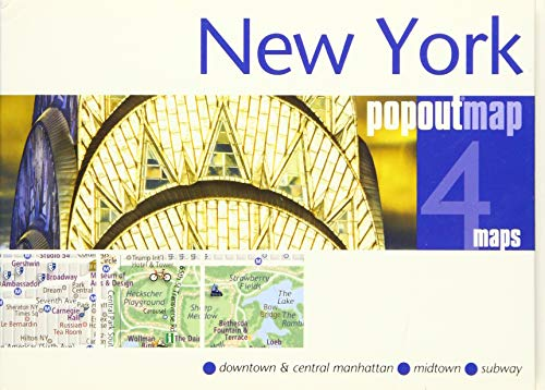 New York Popout Map (Popout Maps) By Created by PopOut Maps