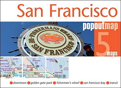 San Francisco PopOut Map By PopOut Maps