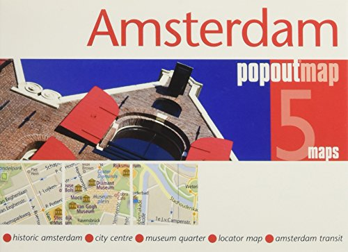 Amsterdam PopOut Map By PopOut Maps