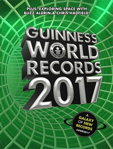Guinness World Records 2017 Foreword by Buzz Aldrin