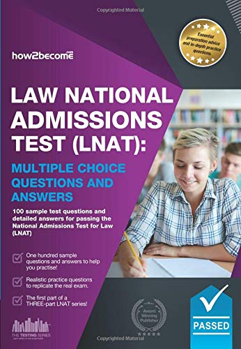 Law National Admissions Test (LNAT): Multiple Choice Questions and Answers By How2Become