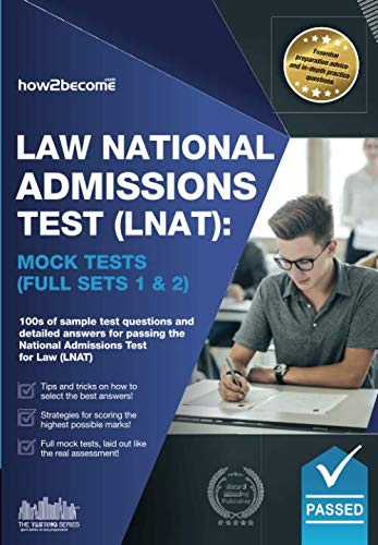 Law National Admissions Test (LNAT): Mock Tests Full Sets 1 & 2 (LNAT Revision Series) By How2Become