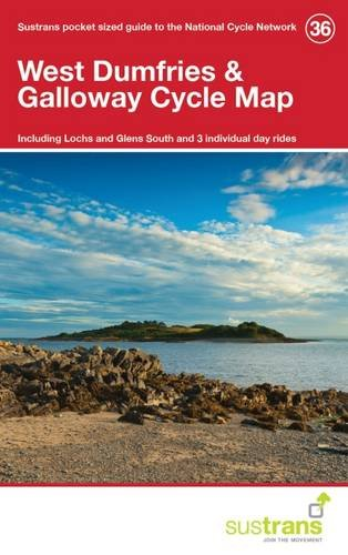 West Dumfries & Galloway Cycle Map 36 By Sustrans