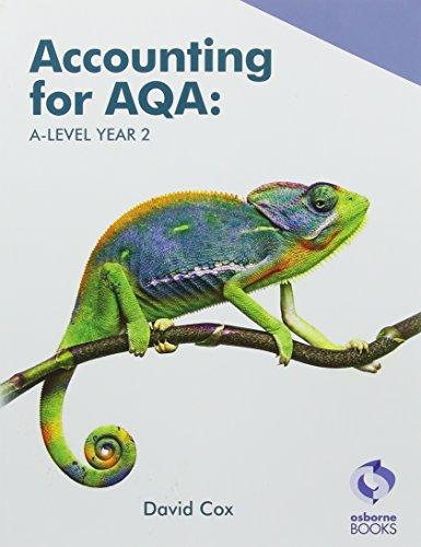 AQA A Level Year 2 Book By David Cox
