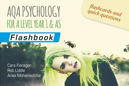 AQA Psychology for A Level Year 1 & AS: Flashbook By Cara Flanagan