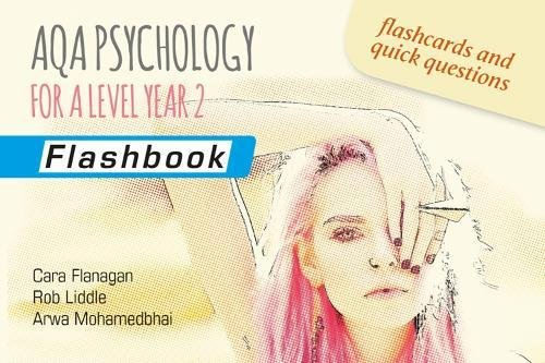 AQA Psychology for A Level Year 2: Flashbook By Cara Flanagan